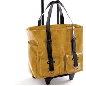 Shiraleah Vegan Harper Roller Tote Carry On